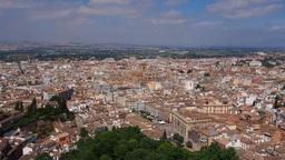 Granada, Spain Stock Video Footage