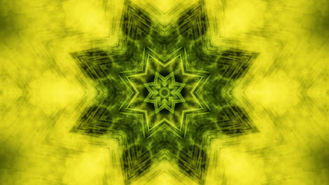 fractal kaleida green Animation
