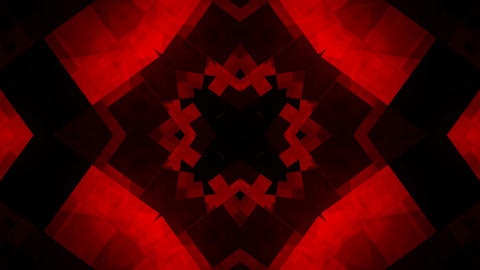 crazy red kaleidoscope Animation