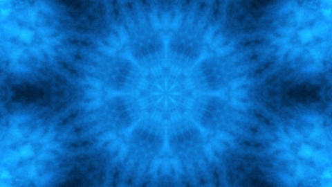 blue gothic motif Stock Video Footage
