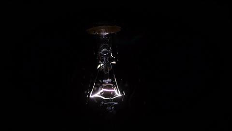 Light Bulb Flicker Stock Video Footage
