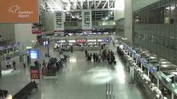 Frankfurt Airport Stock Video Footage