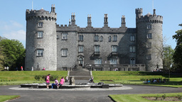 Kilkenny Castle 1 Stock Video Footage