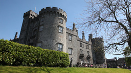 Kilkenny Castle 3 Stock Video Footage