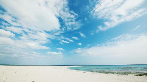 tropical beach, Okinawa prefecture Stock Video Footage