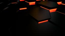 hexagonal motion tile Stock Video Footage