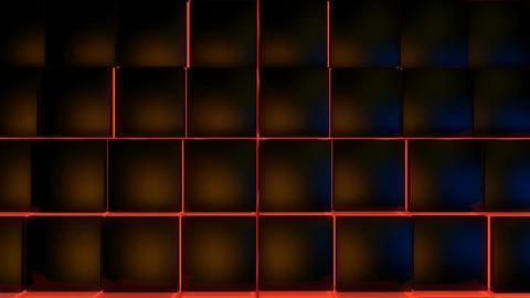 neon glowing box Animation