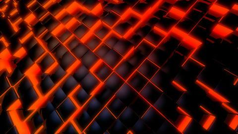 dancing tile glow Stock Video Footage