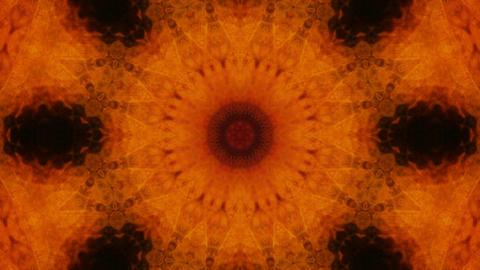 rotten dark kaleidoscope Stock Video Footage
