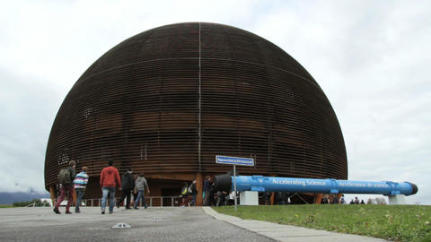 CERN in Geneva Stock Video Footage