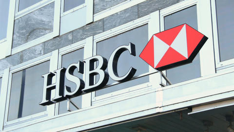 HSBC - Geneva Stock Video Footage