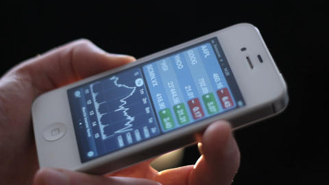 Iphone Stock Video Footage