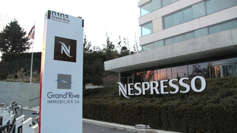Nespresso in Lausanne Footage