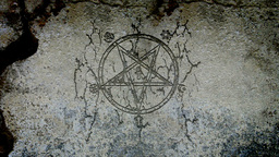 Pentagram Mal stock footage