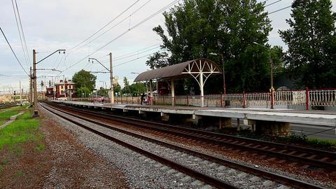 railway station Stock Video Footage