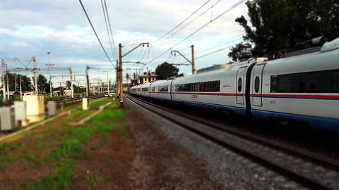 speed train Stock Video Footage