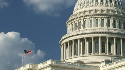 US Capitol Stock Video Footage