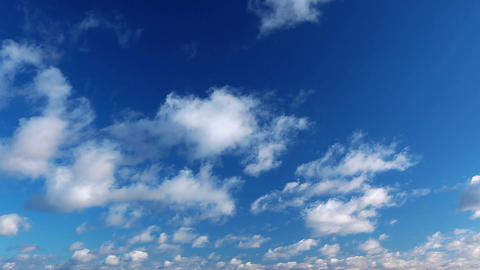 sky and clouds - timelapse Footage