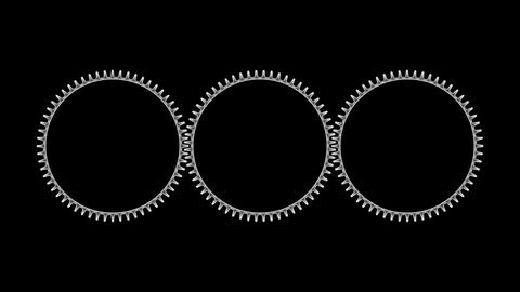Gears 3 09 Stock Video Footage