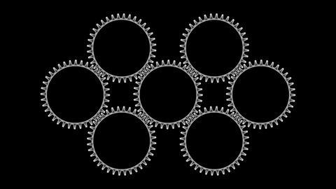 Gears 3 33 Stock Video Footage