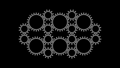 Gears 3 55 Stock Video Footage
