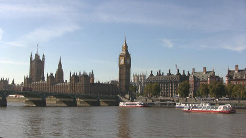 London Westminster and Big Ben ビデオ