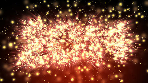 Sparkling New Year 2014 Title Stock Video Footage