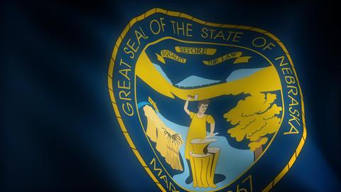 Flag of Nebraska Animation