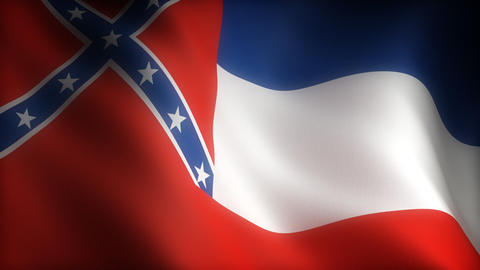 Flag of Mississippi Animation