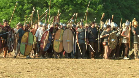 celt roman fight 51 Footage