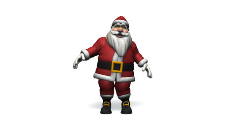 Dancing Santa Claus Animation