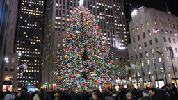 Christmas in Manhattan Footage