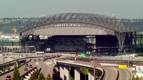 Safeco Field stock footage