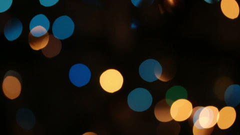 defocused colored circular lights backgrounds - do Stock Video Footage