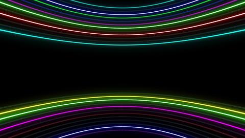 Neon tube R c E 1h HD Stock Video Footage