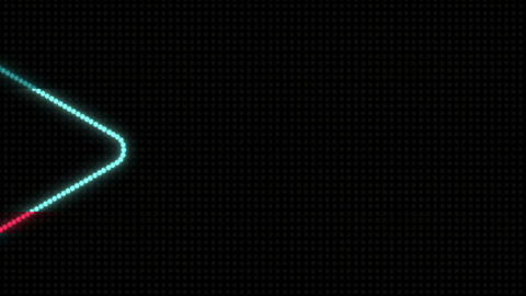 Arrows LEDS 02 Stock Video Footage