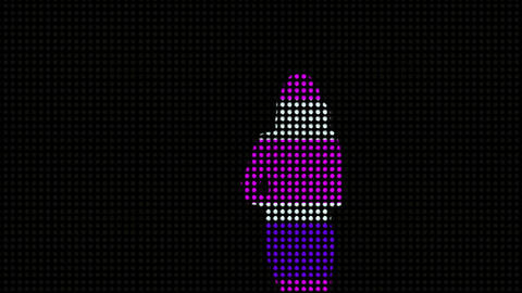 LEDS Disco Dancer 03 Animation