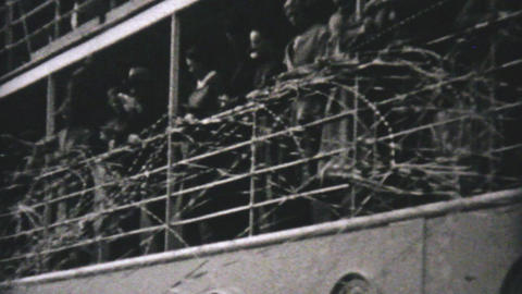 Cruise Ship Leaves Vancouver To Alaska 1940 Stock Video Footage