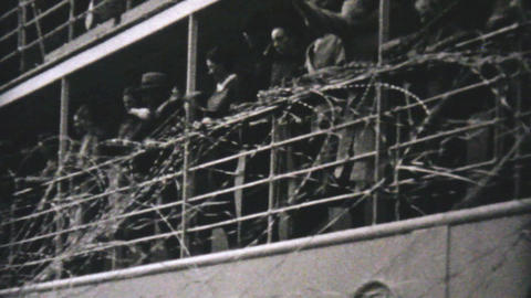 Cruise Ship Leaves Vancouver To Alaska 1940 Footage
