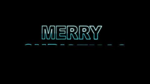 Merry Christmas LEDS 02 Animation