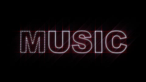 Music Styles LEDS 02 Stock Video Footage
