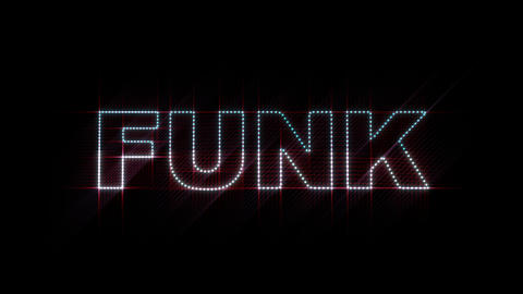 Funk LEDS 01 Stock Video Footage