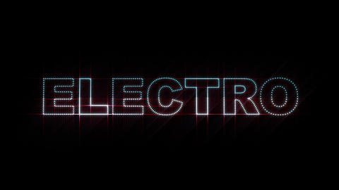 Electro LEDS 01 Stock Video Footage