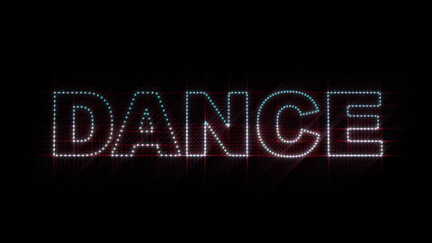 Dance LEDS 01 Stock Video Footage