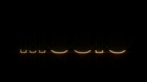 Music LEDS 01 Stock Video Footage