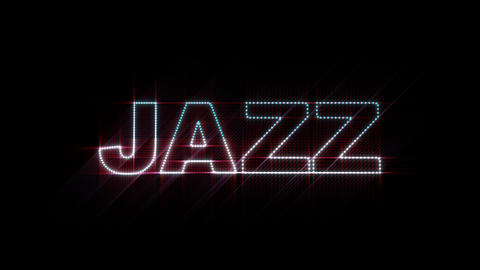 Jazz LEDS 01 Stock Video Footage