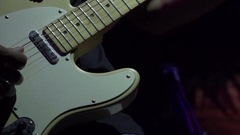 Guitar Solo HD Stock Video Footage