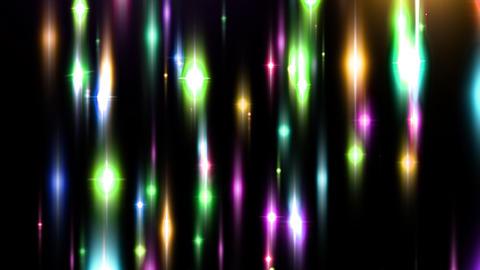 KiraKira HD 01 mov (Starlike Light) Stock Video Footage