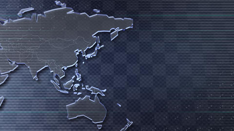 World b Stock Video Footage