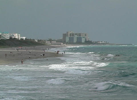 Florida Beach Stock Video Footage